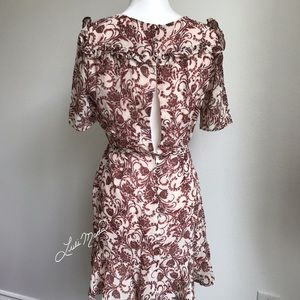 BB Dakota Dresses - BB Dakota Twirl Wrap Style Dress